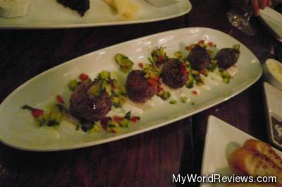 Feta Stuffed Lamb Meatballs