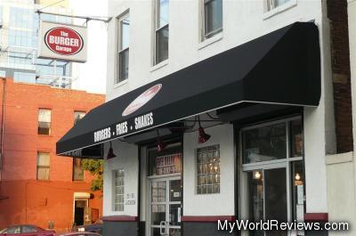 The Burger Garage in Long Island City