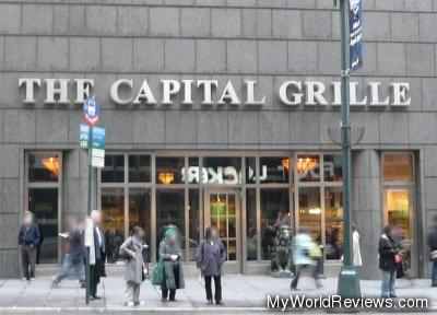 The Capital Grille on 42nd St