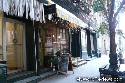 Thompson Cafe in SoHo