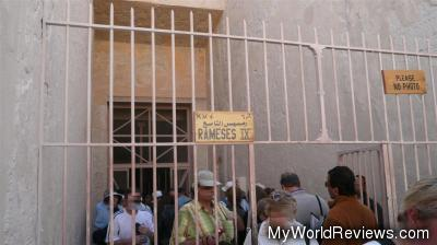 Entrance to the Tomb of Ramses IX