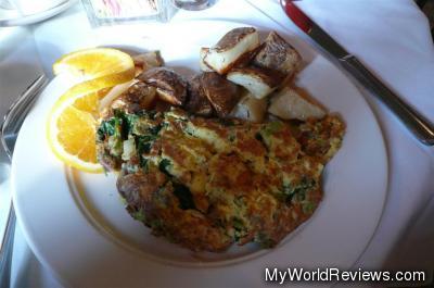Vegetables Omelette